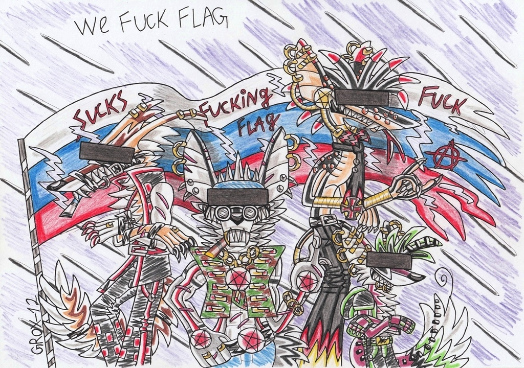 ''We fuck flag''-cover1
