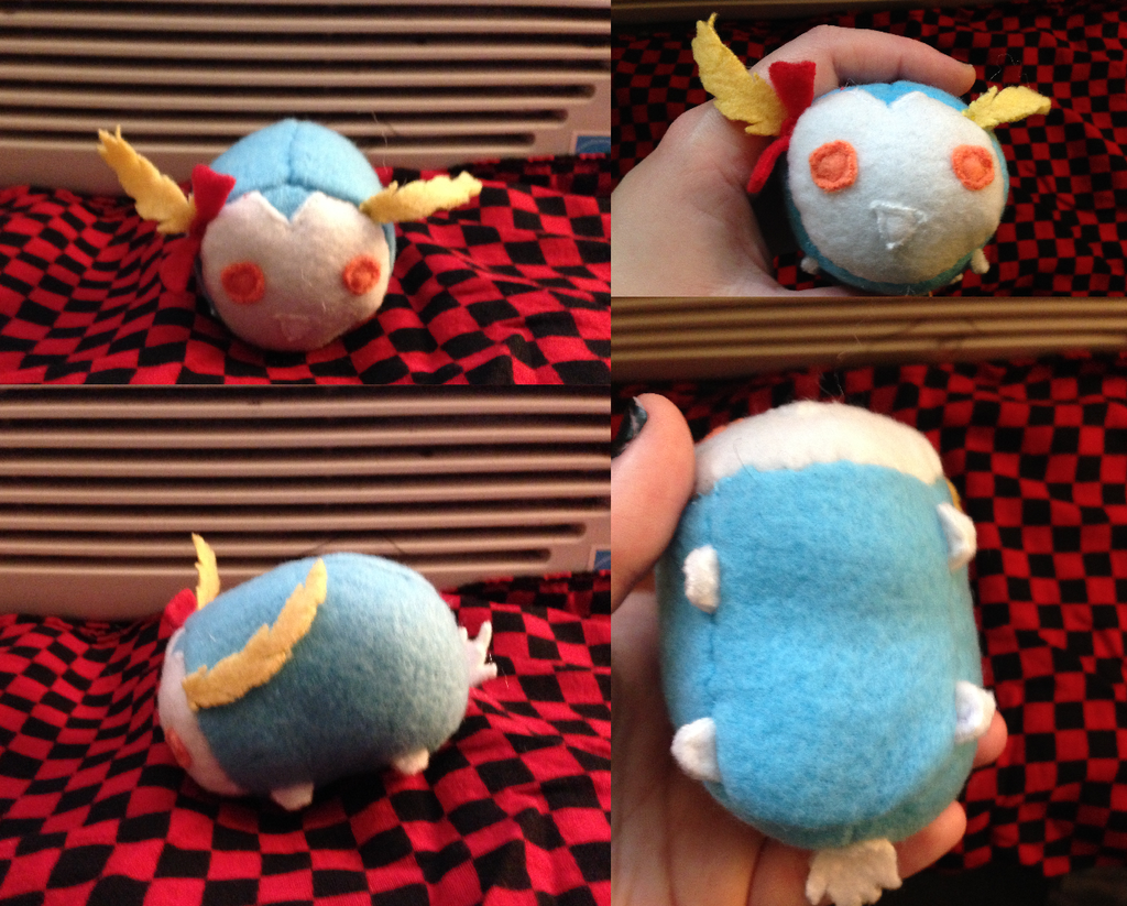 Breath of the Wild Blueberry the Blupee tsum made for myself