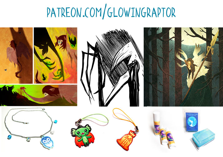 GlowingRaptor on Patreon