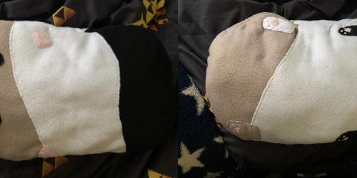 Guinea Pig Pillow Plush Commission