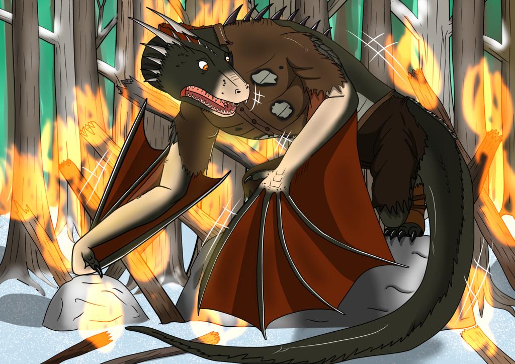 Reborn of fire