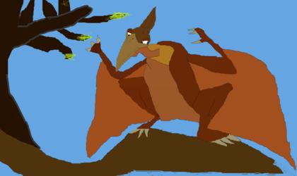 Pterano drawing