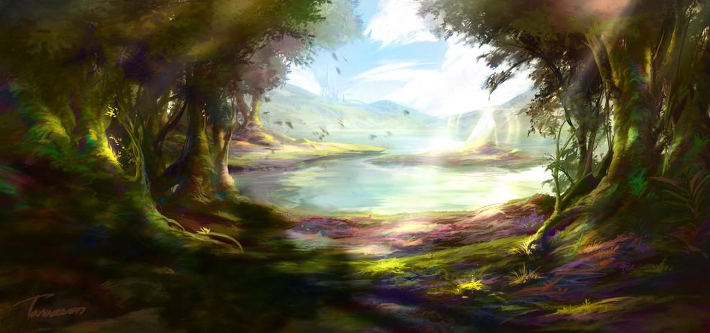 Commission [Jilada Garden]