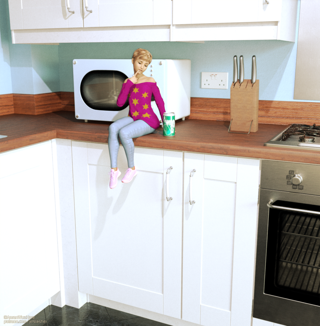 Most recent image: Kitchen on Counter, by Jetslasher