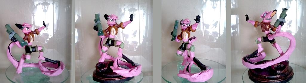 Vi Skirmish Figurine Painted