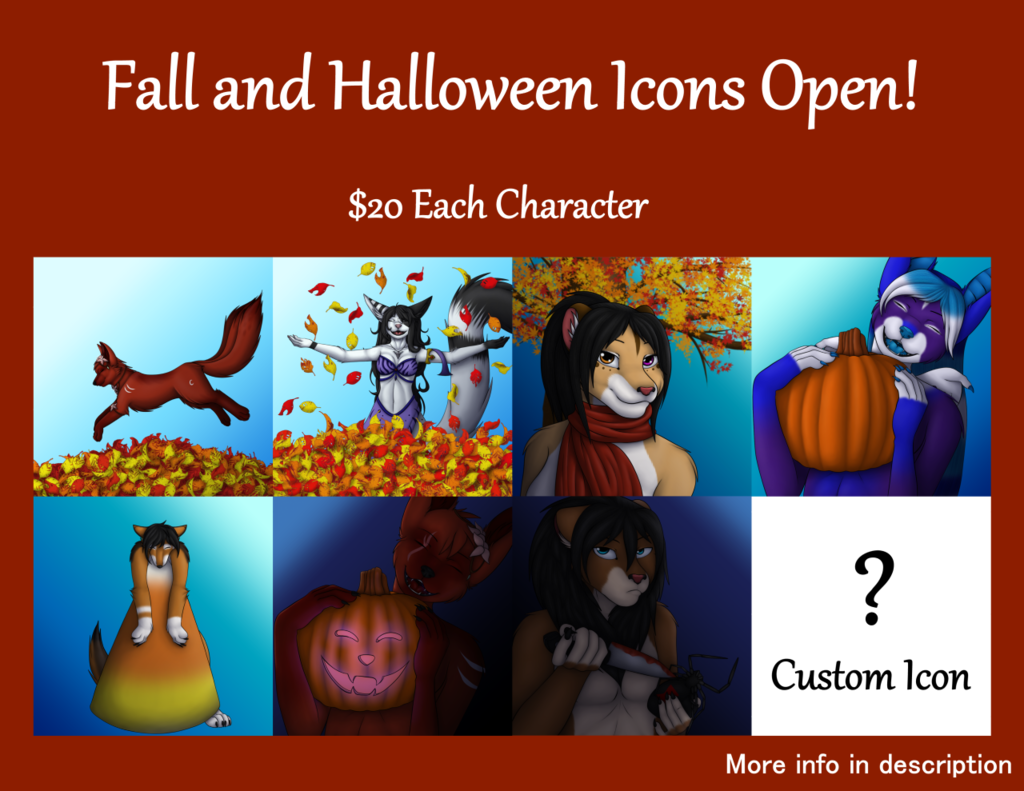 Fall and Halloween Icons OPEN!