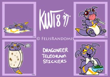 Dragoneer Telegram Stickers