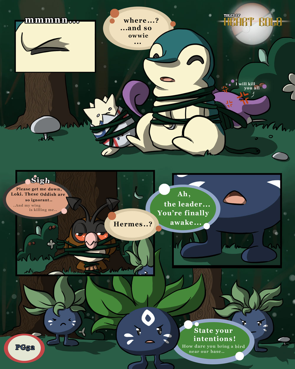 Into Woods PG6: State Intentions!