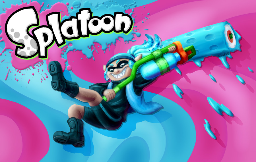 Featured image: SPLATTED BY: