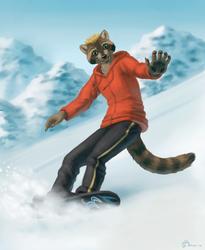 Stefan Shuttercoon Snowboarding