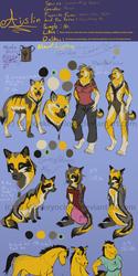 Aislin Character Sheet -Fursona-