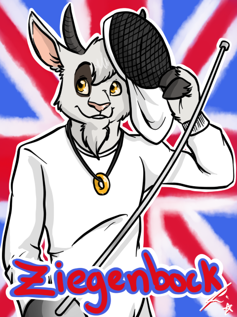 London Furs Summer Party badge