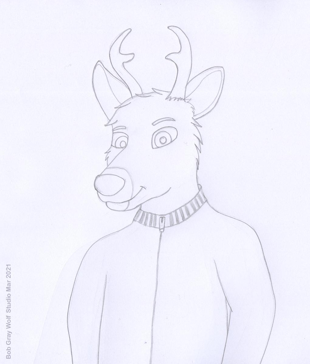 Most recent image: Keldan Deer - Sketch
