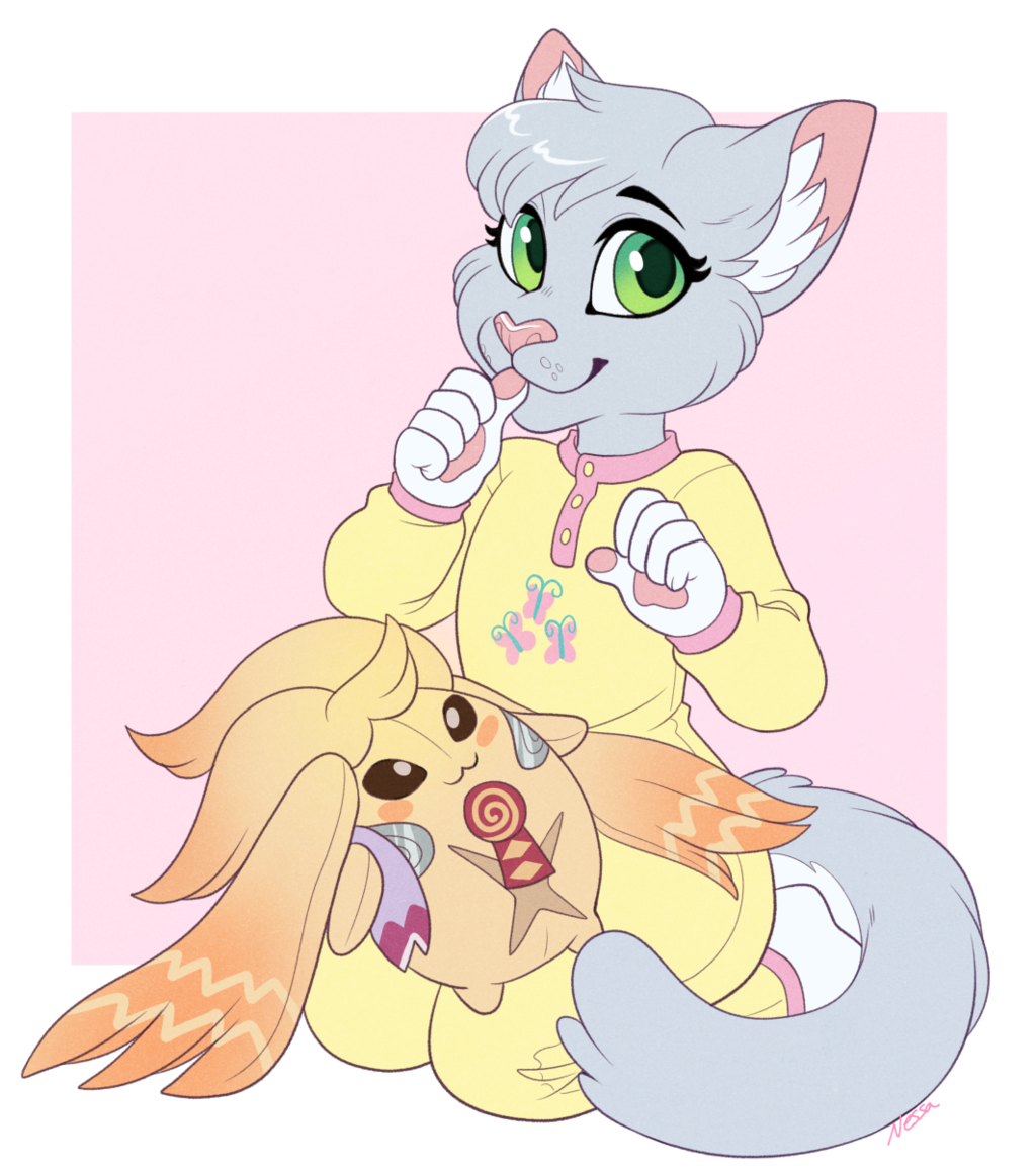 Chakat_Snowrose - Commission