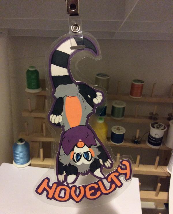 Novelty Badge 2