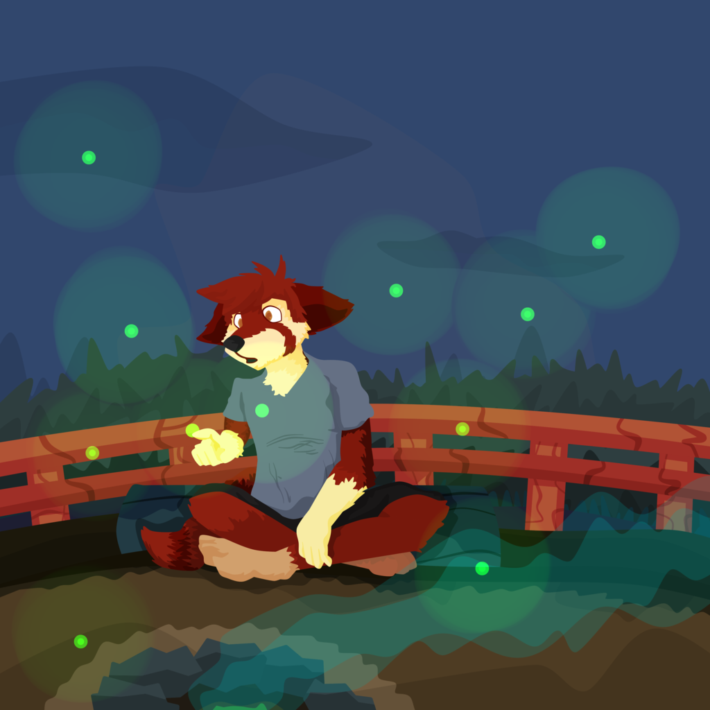 Pandana hunts for Fireflies