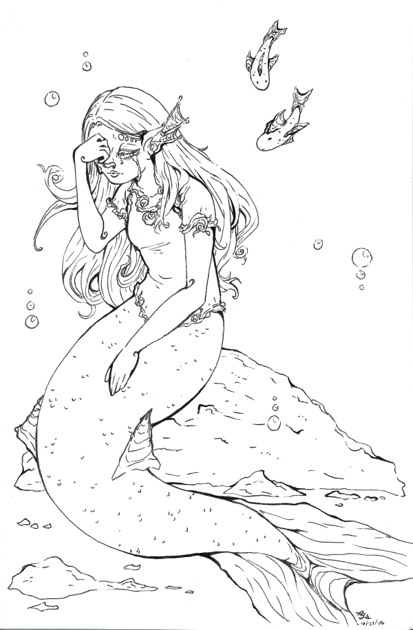 Crying Mermaid