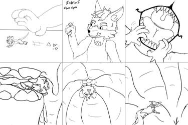 Vore Comic Sketch