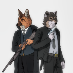 Special Agents by Pure-Eyes
