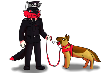 Dog Cop & Cop Dog