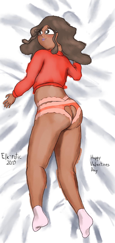 Eliza's Valentine's Day Dakimakura Back