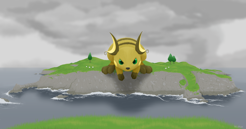 Most recent image: Island-Hopping Raichu