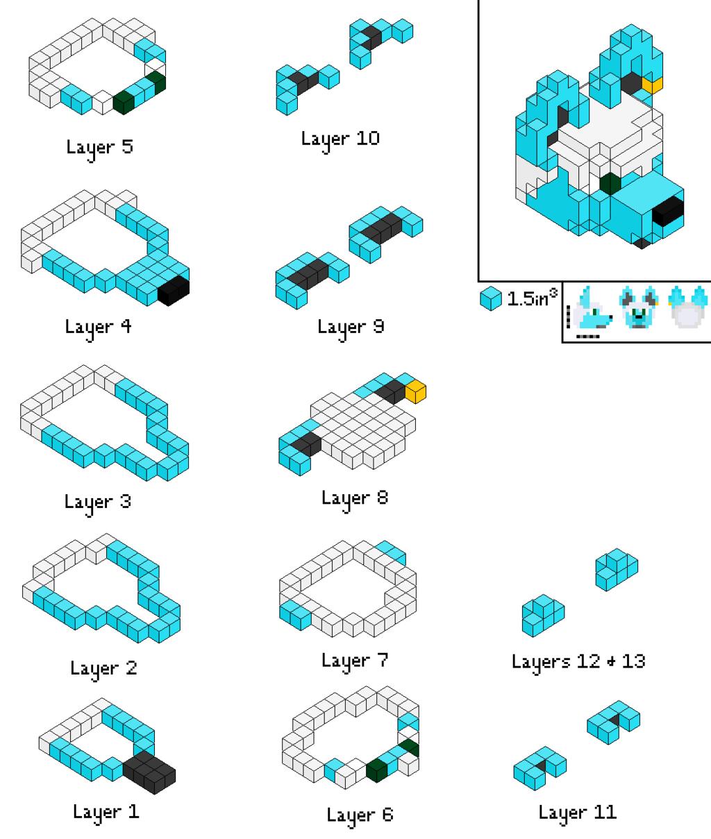 Pixel Head Model