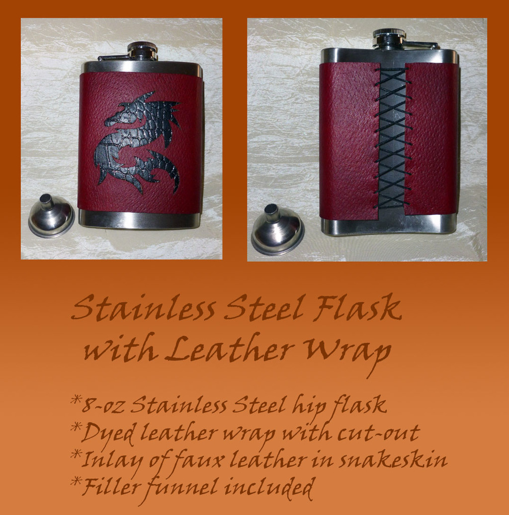 Featured image: Flask: Dragon Inlay