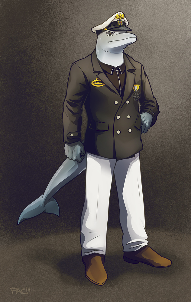COMMISSION - Fregattenkapitan Meinhard Volker