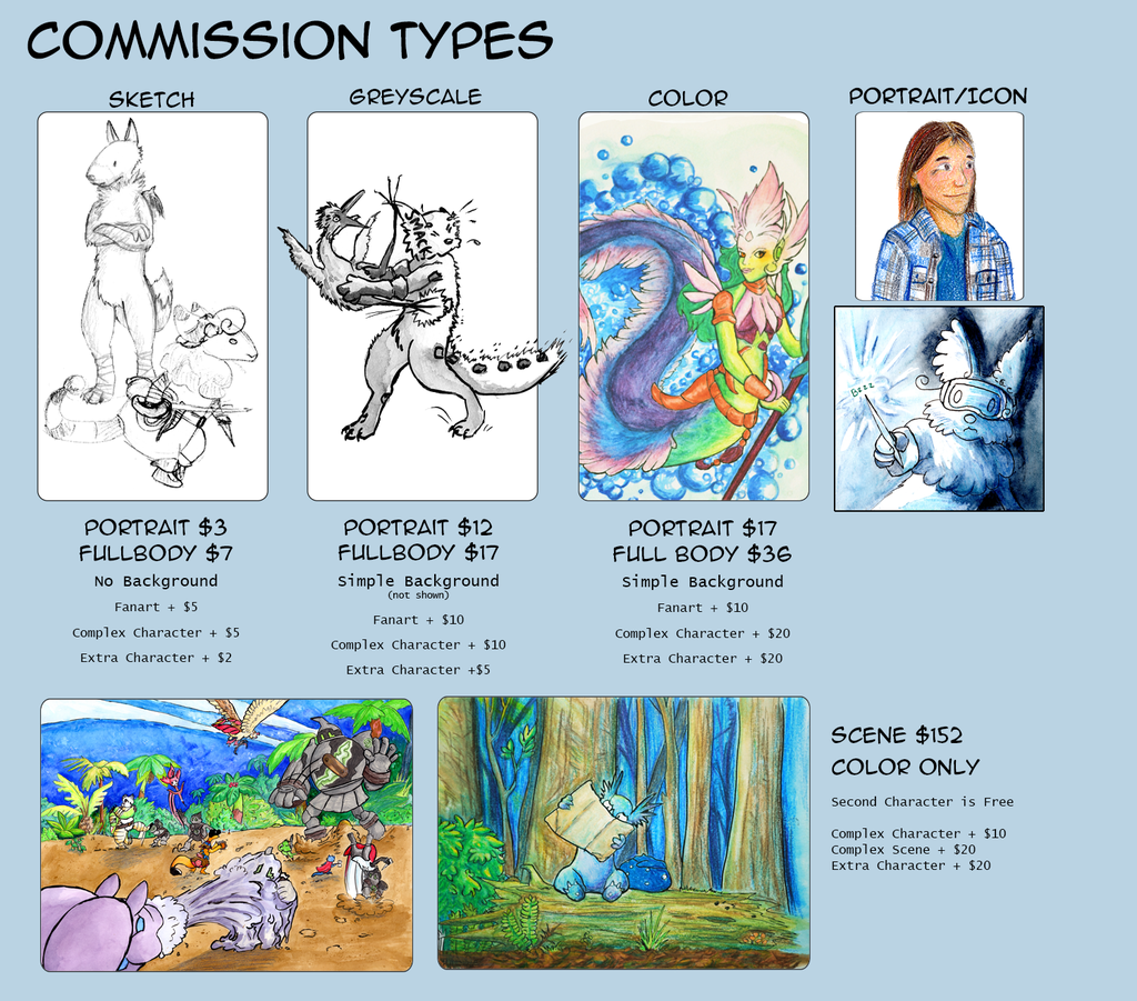 Featured image: Commissions are open!