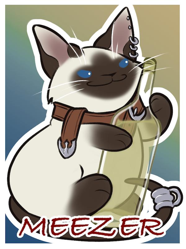 Puff Badge: Meezer