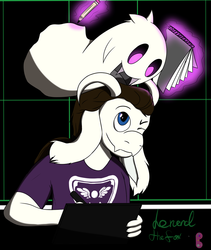 Ghosty and Goat!