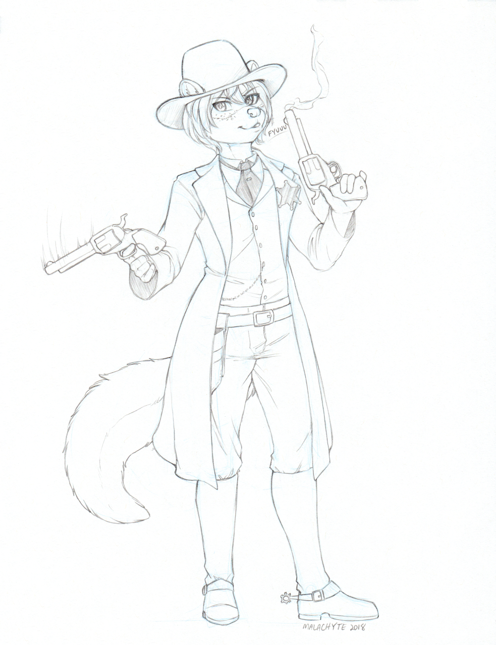 [CM] CyanideDieci Ferret Rough Sketch