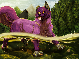 [YCH/C] River Wading
