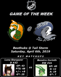 FHL Season 7 Game of the Week #17: Beothuks @ Tail Storm