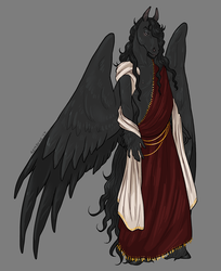 Jeliel - anthro pegasus (clothed)