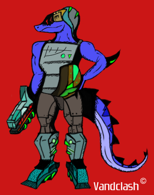 Unknown Specie Flat Color