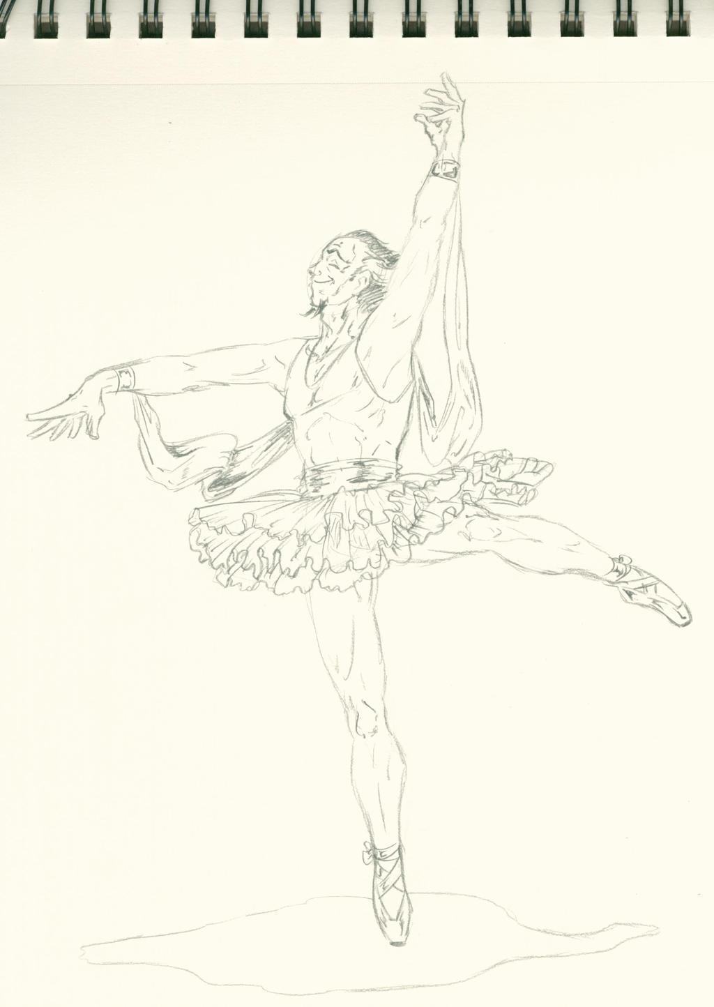 SKETCH Ra's happy ballerina dance
