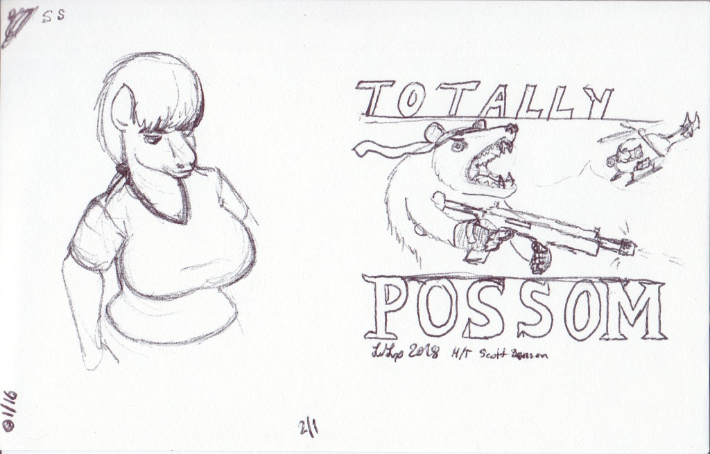 Horse + Totally Possum