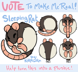 Squishable Rat Plush: Vote to Make it Real!