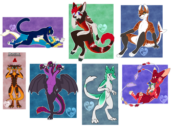 [Patreon] May Colored Sketches/Flat Colors