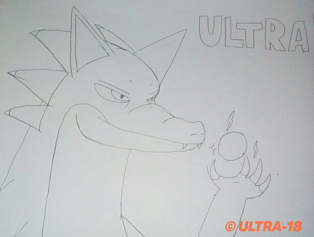 Ultra the hedgedragon [NEW LOOK]