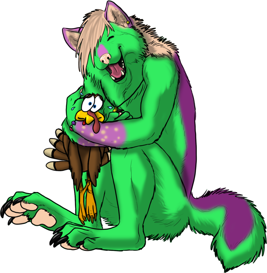NeonBreezyRayne - Turkey Hug