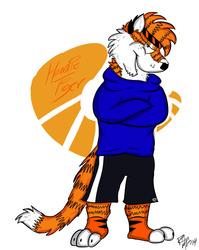 Hoodie Tiger Re-Vamp