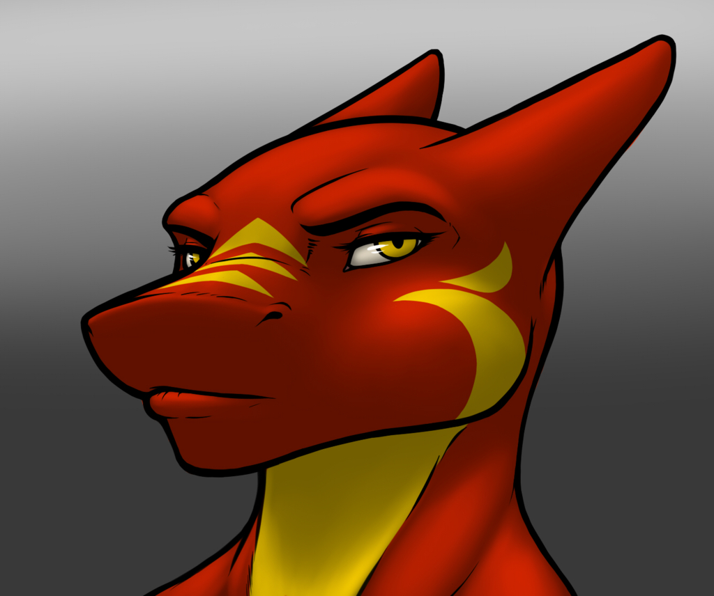 Most recent image: Lil-Red's Bust & Markings