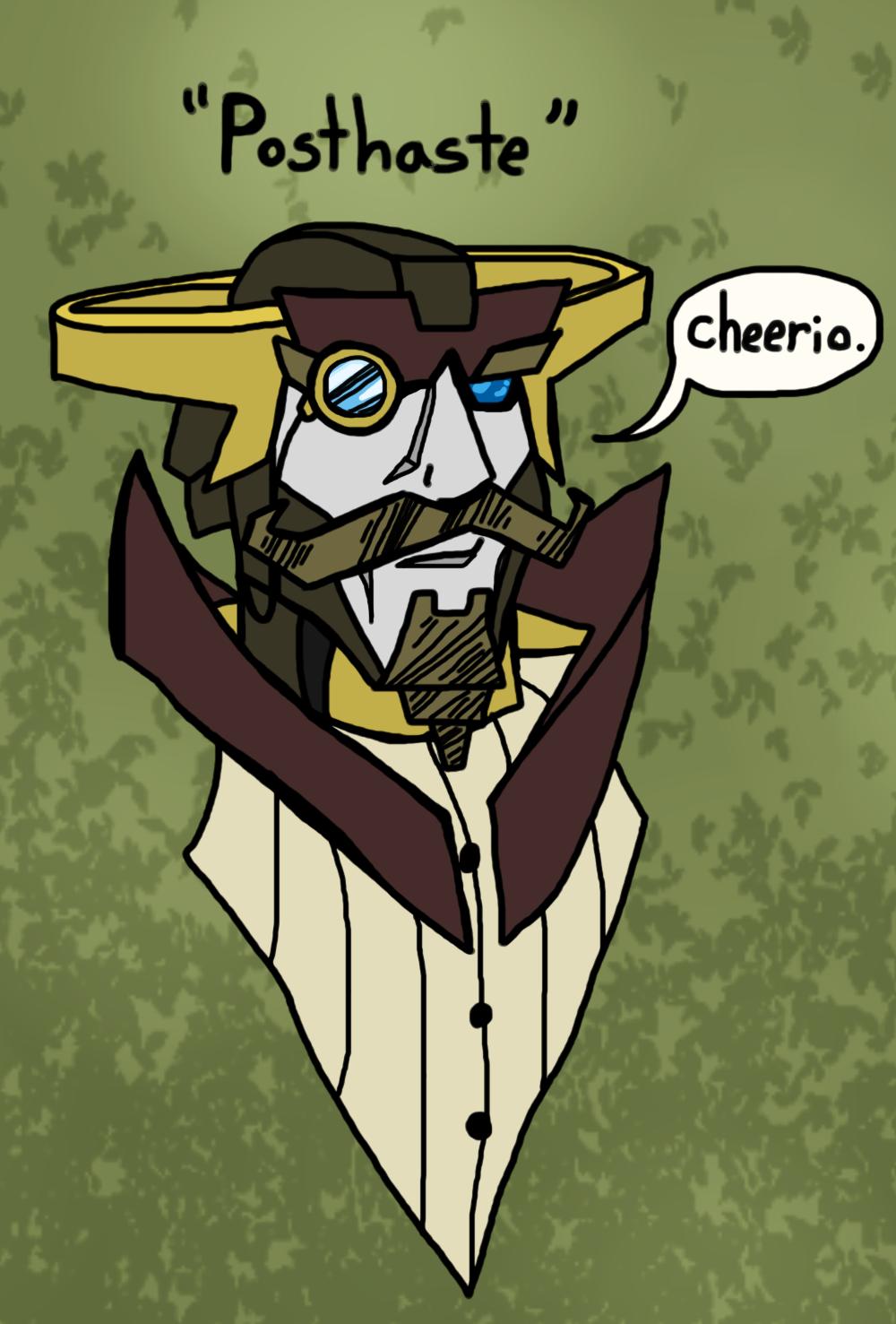 Bad Random Transformer Names: POSTHASTE