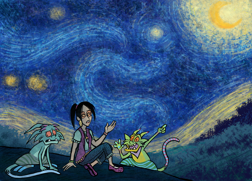 Most recent image: Starry Starry Night