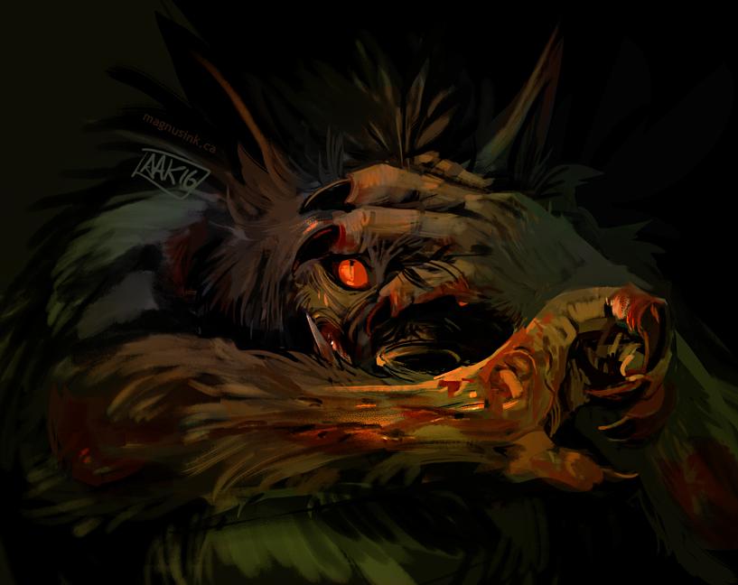 Scary Dog 8