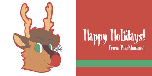 REINDOOF! AKA Holiday card/Icon sale