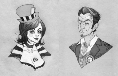 Moxxi and Jack (Commissions)